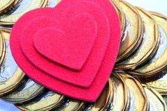 Ame o dinheiro Fotos de Stock