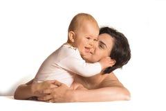 Ame-o mamã! Imagens de Stock
