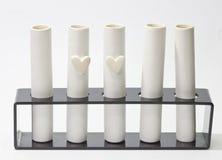 Ame o teste, o amor é verdadeiro ou não Foto de Stock