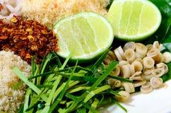 Ñame tailandés picante de Khao de la cocina Fotos de archivo