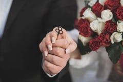 Ame toda la vida ¡Día de boda! Fotos de archivo libres de regalías