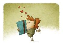 Ame una tarjeta de crédito Foto de archivo libre de regalías