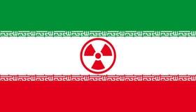 Ameaça nuclear iraniana Foto de Stock Royalty Free