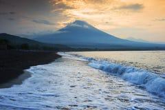 Amed,巴厘岛,印度尼西亚。 免版税库存照片