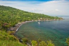Amed, Bali, Indonezja. obrazy stock