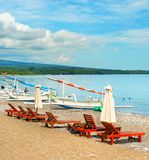 Amed beach, Bali island, Indonesia Stock Images