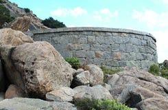 Ameia do forte com fundo do céu Fotos de Stock Royalty Free