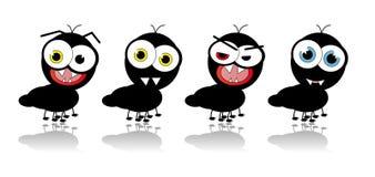 Ameisen-Karikatur - vektorbild Stockbild