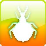 Ameisenlöwelarve vektor abbildung