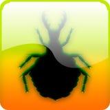 Ameisenlöwelarve stock abbildung