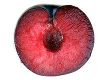Ameixa vermelha Fotografia de Stock Royalty Free