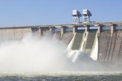 Central eléctrica hidroelétrico Foto de Stock Royalty Free