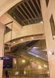 Ameixoeira驻地,里斯本地铁,葡萄牙 免版税库存照片