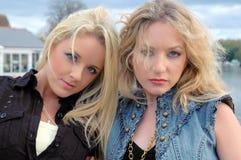 Amelia e Keeley1 Imagens de Stock