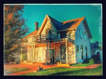 Amelia Earhart birthplace. Home in Atchison Kansas birthplace of Amelia Earhart avatar pilot Stock Photography