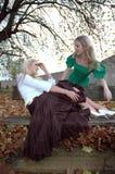Amelia et Keeley6 Photo libre de droits