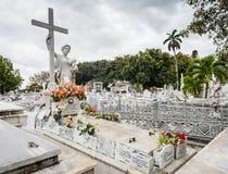 Amelia Goyri Tomb - dos puntos, cementerio Foto de archivo libre de regalías