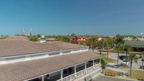 AMELIA ISLAND, FL - 1ER AVRIL 2018 : Littoral de plage de Fernandina Photo stock