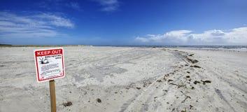 Amelia Island Florida, Fernandina-Strand, Florida, USA stockfoto