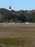 Amelia Island Lighthouse Royalty-vrije Stock Foto's