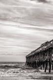 Amelia Island pier stock photography