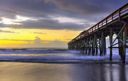 Amelia Island Sunrise Royalty Free Stock Photography