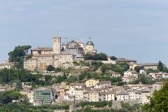 Amelia (Ombrie, Italie) - la vieille ville Photo stock