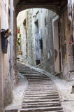 Amelia (Ombrie, Italie) - vieille rue Image stock