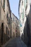 Amelia (Ombrie, Italie) - vieille rue Image libre de droits