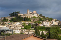 Amelia. Panoramic view of Amelia Umbria royalty free stock photography