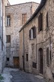 Amelia Umbria, Italy: historic town stock images
