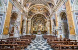Cathedral of Santa Maria Assunta. Amelia, province of Terni, Umbria, Italy. Amelia is a town and comune of the province of Terni, in the Umbria region of royalty free stock image