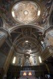 Amelia (Umbria, Italia) - interiore della cattedrale Fotografia Stock