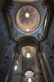 Amelia (Umbria, Italia) - interiore della cattedrale Fotografia Stock Libera da Diritti