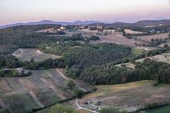 Amelia Umbria, Italie : paysage Image libre de droits
