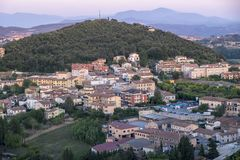 Amelia Umbria, Italie : paysage Photographie stock