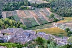 Amelia Umbria, Italie : paysage Photo stock