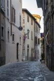Amelia Umbria, Italie : ville historique Image stock