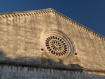 Amelia Umbria, Italie : ville historique Photographie stock