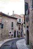 Amelia Umbria, Italie : ville historique Photographie stock libre de droits