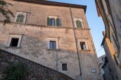 Amelia Umbria, Italie : ville historique Photo libre de droits