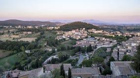 Amelia Umbria, Italie : ville historique Images stock