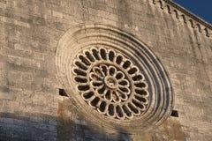 Amelia Umbria, Italie : ville historique Hublot de Rose Image libre de droits