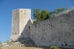 Amelia Umbria, Italie : ville historique, murs Images libres de droits