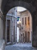 Amelia Umbria, Italy: historic town stock photography