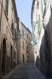 Amelia (Umbria, Italy) - Old street Royalty Free Stock Image