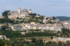 Amelia (Umbria, Italy) - The old town Royalty Free Stock Images