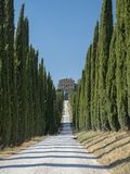 Amelia Umbria, Italy: Villa Aspreta. Amelia Terni, Umbria, Italy: park of the historic Villa Aspreta, near the town royalty free stock photo