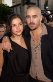 Amelia Warner,Colin Farrell Stock Photo