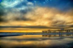 Amelia wyspy wschód słońca Fotografia Stock